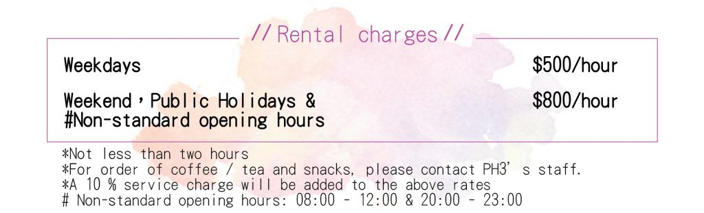 PH3 Rental Charges
